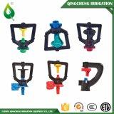 Sistema de regadera plástico de la irrigación por goteo del equipo de la agricultura