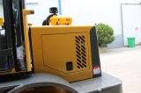 Carregador do carregador 4WD 1.6t da exploração agrícola de China mini para a venda