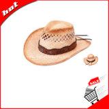 Sombrero de vaquero, rafia del sombrero de vaquero, sombrero de paja, sombrero de vaquero de paja