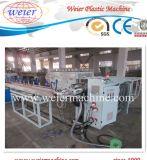 Cadena de producción suave reforzada fibra del tubo del PVC