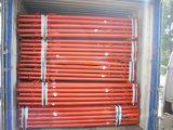 Appui vertical et coffrages réglables d'échafaudage de taille