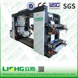 Maquinaria de impresión de alta tecnología de Flexo de la bolsa de plástico de la película del LDPE Ytb-4600