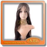 Peluca delantera brasileña del cordón de la peluca humana