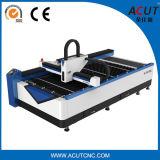Cortadora del laser de la fibra del metal de hoja con el precio barato Acut-1325