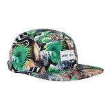 Vente en gros de colorants Sublimation Printing Woven Label 5 Panel Hat
