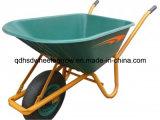 プラスチック皿の一輪車の庭の手押し車(WB6414A)