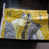 白いPPによって編まれる密封された袋が付いているクラフト紙