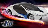Jouet à télécommande par radio électrique de luxe de gosse de véhicule de sport de BMW I8 RC de 1h16