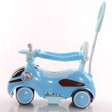 Jouets de véhicule de batterie d'enfants d'énergie électrique avec la barre de poussée