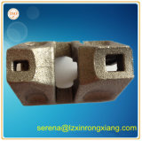 La pièce de bâti de construction utilisée dans la construction branchent la pièce de tige