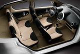 Carro elétrico Bionic elegante com 4 assentos