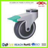 Rueda médica del echador del tornillo del eslabón giratorio (L503-34E100X32C)