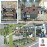 La BV pasa la máquina de la ensambladora del panel de la maquinaria de carpintería del compositor de la chapa de la base