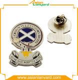 Emblema personalizado do metal da forma redonda