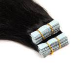 "2016 Hot Sale Tape Virgin Brazilian Hair Extensions 10 cores 16 ""Inch Straight Skin Weap Remy Human Hair Tape Extensions"