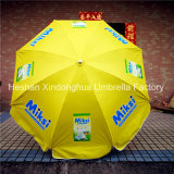 Parasol de parasol de plage extérieur de 220 cm pour la publicité (BU-0048W)