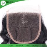 Knots blanchis brésilien Cheveux humains Virgin Hair Lace Closure