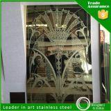 Основной лифт качества выбил лист конструктора нержавеющей стали поверхности вытравливания отделки зеркала картины декоративный