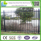 미국을%s 까만 Powder Coated Ornamental Iron Picket Fence