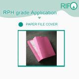 O dobro pesado da espessura toma o partido papel sintético revestido para a tampa do dobrador