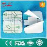Vendaje para heridas no tejido para el hospital y farmacia/vendaje para heridas suavemente no tejido para el cuidado médico