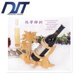 Factory Direct Popular Única garrafa de bambu para Red Wine Rack