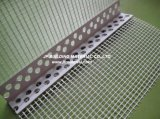 Grano de la esquina del PVC con el acoplamiento de la fibra de vidrio