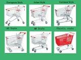 Supermarkt-Metalleinkaufen-Karren u. Laufkatze