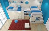 Italienische Hauptmelamin-Kind-Bett-Schlafzimmer-Möbel stellten ein (et-009)