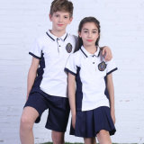 Uniforme scolastico Kids Polo Shirt di disegno per School