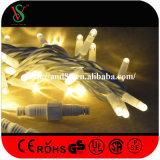 Quirlandes électriques de Warmwhite de fil en caoutchouc