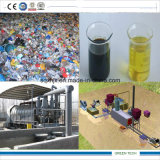 planta de 10ton Pyrolyzation para o plástico que recicl ao petróleo