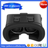 초점 플라스틱 Version 및 Smartphpne를 위한 Qr Code를 가진 Pupil Distance Adjustment Google Cardboard 3D Vr Virtual Reality Headset Video Movie Game Glasses
