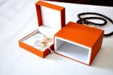 Caixa de couro da qualidade e do luxo para Jewels-Ys349