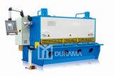 CNC/máquina que pela de la guillotina hidráulica del metal de hoja del Nc, máquina que pela de la placa
