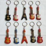 小型キーホルダーのギター(G07)