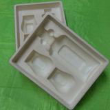Kundenspezifischer PS Plastikpaket-Geschenk-Kasten-Tellersegment für Wein scharend