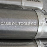 Filtro per pozzi dell'acqua dell'acciaio inossidabile dello schermo del fondo del tubo del fornitore per la perforazione buona