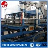 플라스틱 PE/PVC/PP 두 배 벽 물결 모양 관 압출기