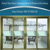 Puerta automática de aluminio de la decoración de la buena calidad para el chalet