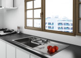 Faucet кухни створки места окна комнаты кухни
