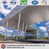 Costruzione commerciale pesante della struttura d'acciaio per l'ufficio di funzionamento