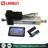 Système de commandes de guide de Web de Leesun (détecteur ultrasonique) pour la bobine Spc-100 de déroulement