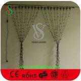 decoração do Natal da luz da corda da cortina 230V