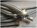 Boyau de teflon flexible de pression avec le tube de PTFE