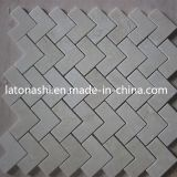 Polished di marmo Strip Mosaic Pattern per Interior Wall/Floor Decoration