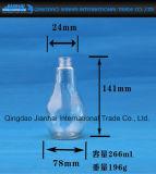 Birnen-Form-Glasflasche für Getränk und Saft