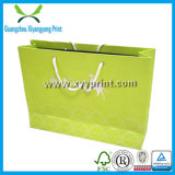 Sacchetti di acquisto di carta di lusso stampati marchio su ordinazione all'ingrosso