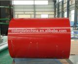 中国の明るく赤いカラーRal 3001のPrepainted電流を通された鋼鉄PPGIコイル