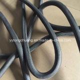 Corde de cachetage de porte de four de fibres de verre avec le fil d'acier inoxydable